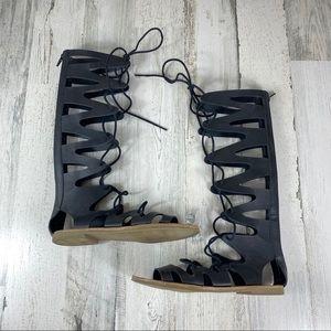 MOSSIMO black gladiator sandals